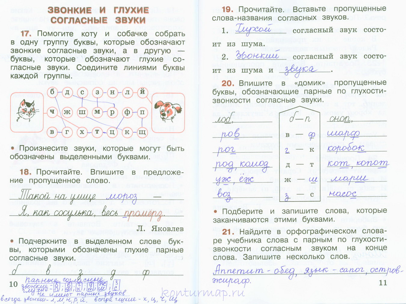 Гдз канакина щеголева проверочные работы 2 класс | русский язык 2.