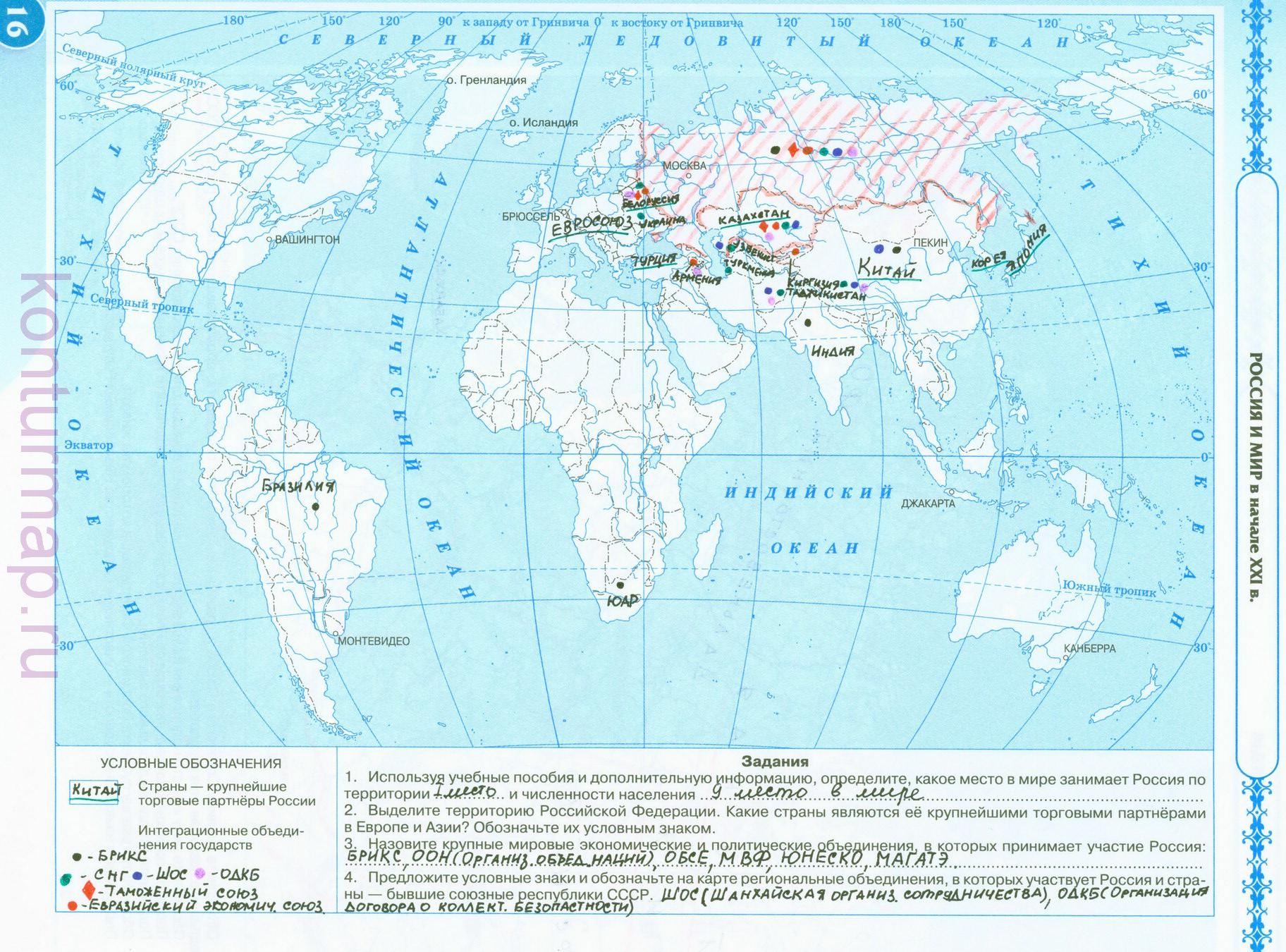Всемирная исторя россия и мир 10 класс гдз