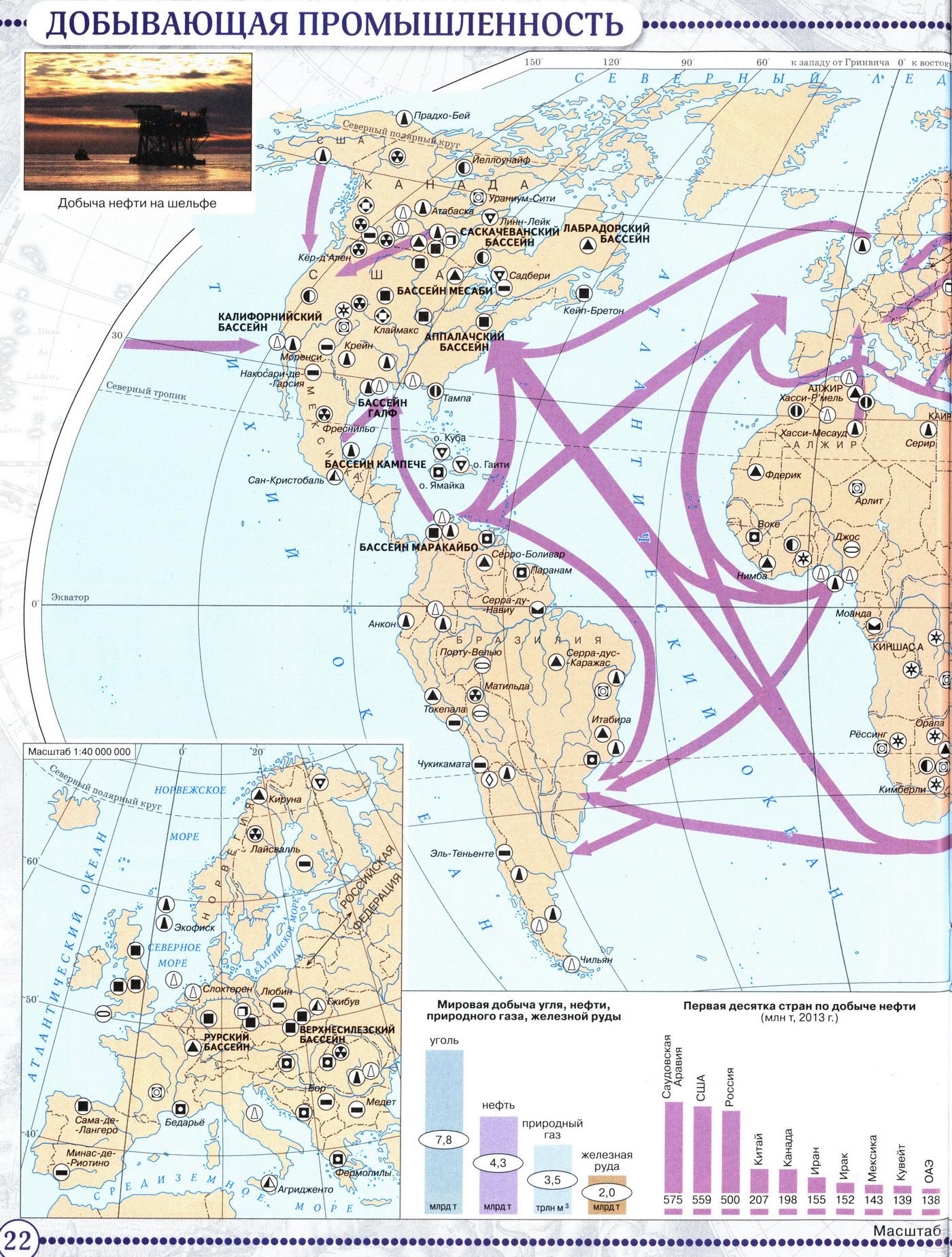 Географический атлас 10 класс дрофа