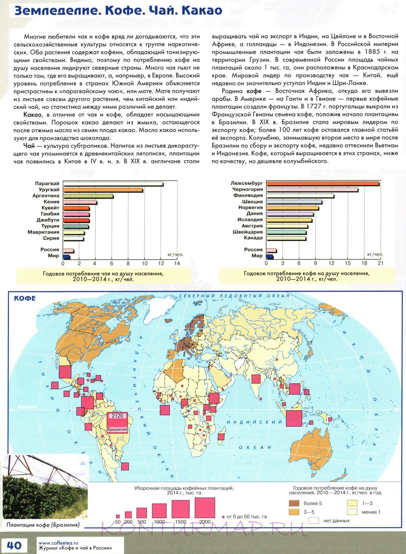 Атлас 7 класс география контурные карты гдз