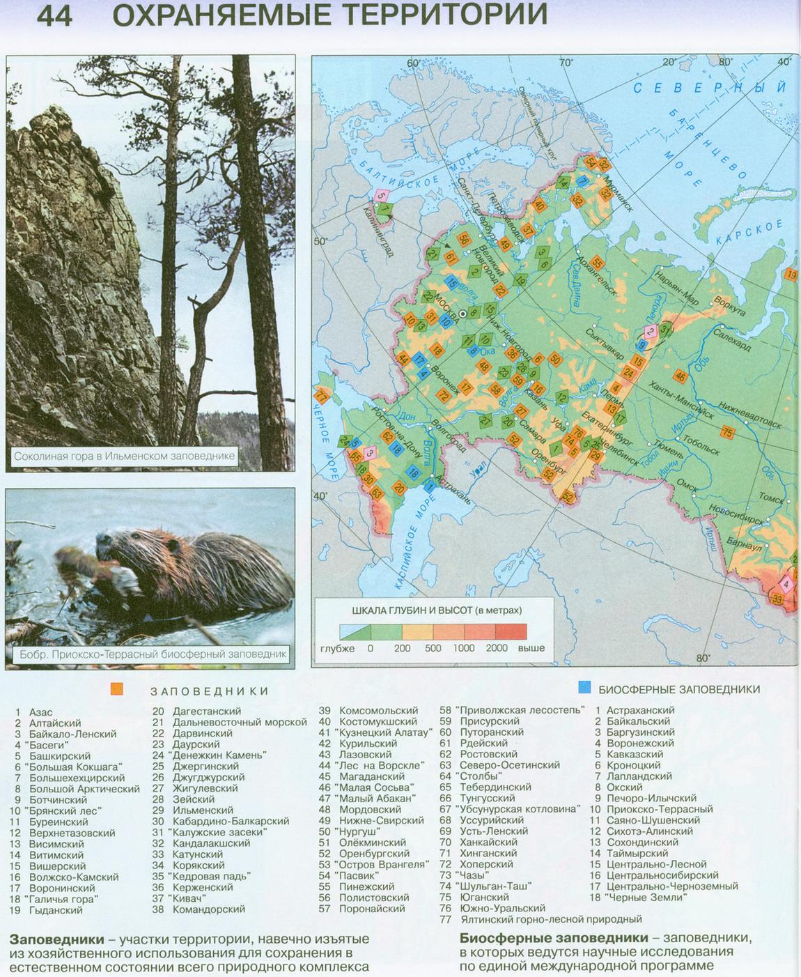 фото заповедники и национальные парки россии